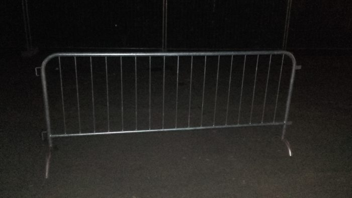 Type: Small gray fence
