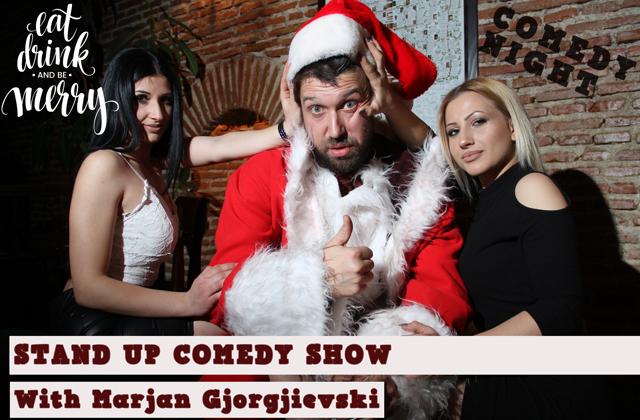 Предновогодишно стендап шоу на Марјан Ѓорѓиевски @ Битола
