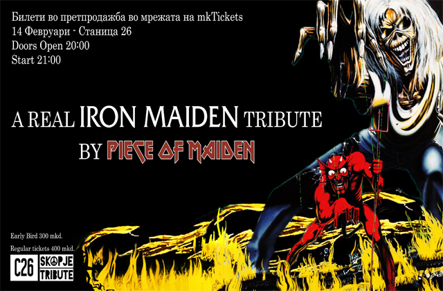 Piece of Maiden – Iron Maiden tribute