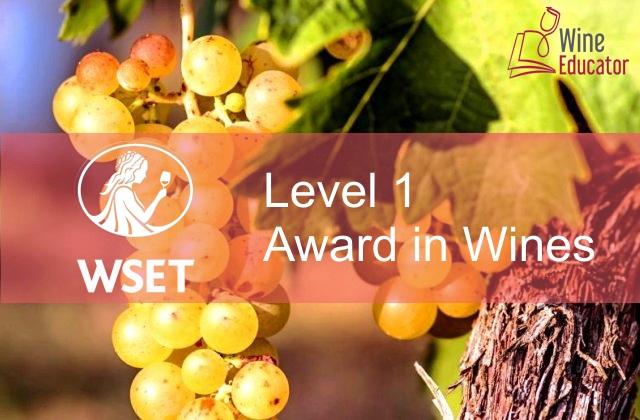WSET – Награда за вина – Ниво 1