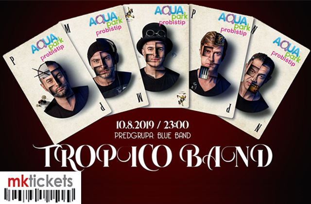 Tropico Band @ Aqua Park Probishtip