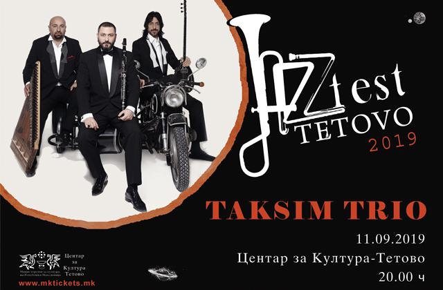 Taksim Trio@ Jazz Fest Tetovo