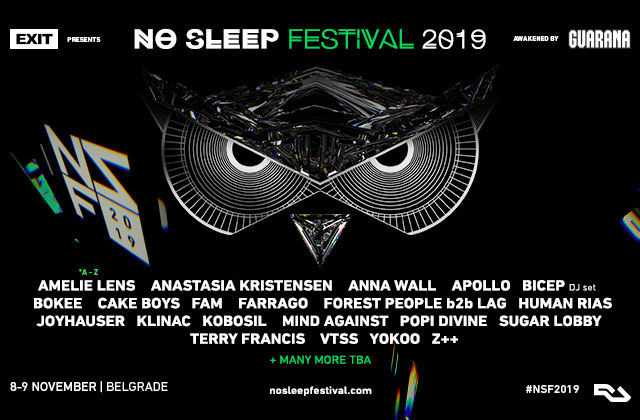 NO SLEEP FESTIVAL 2019