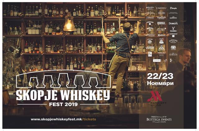 Skopje Whiskey Fest 2019