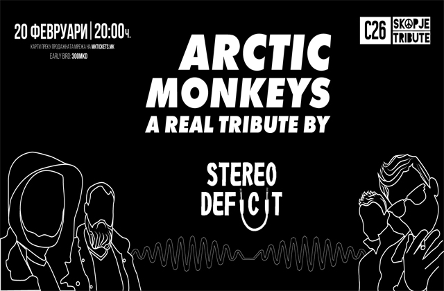 Arctic Monkeys REAL TRIBUTE