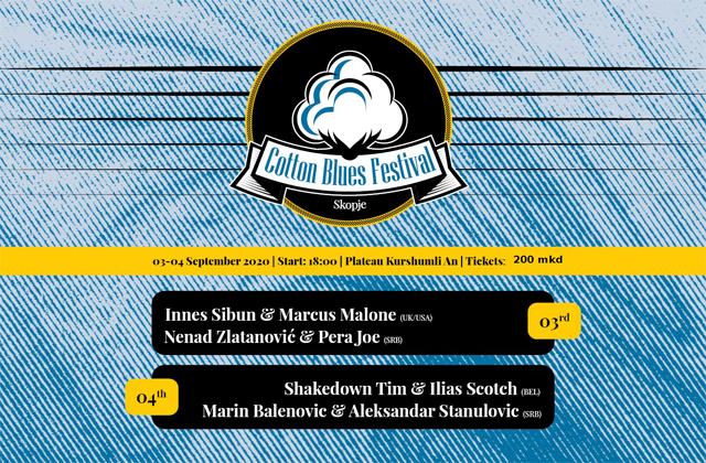 Cotton Blues Festival  03-04.09.2020