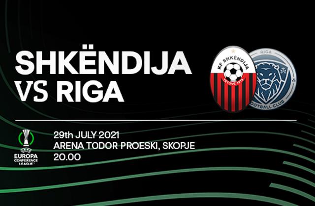KF Shkëndija vs Riga FC