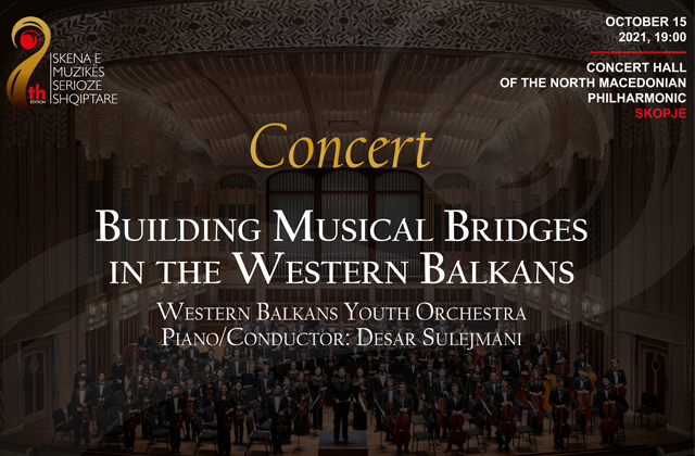 Western Balkans Youth Orchestra Desar Sulejmani, Piano & Conductor